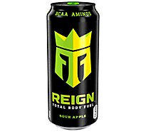 Reign Total Body Fuel Drink Sour Apple - 16 Fl. Oz.
