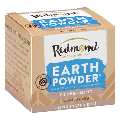 Redmond Earthpowder Peppermint - 1.8 Oz