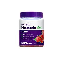 Natrol Melatonin Gummies 10 mg Strawberry - 90 Count