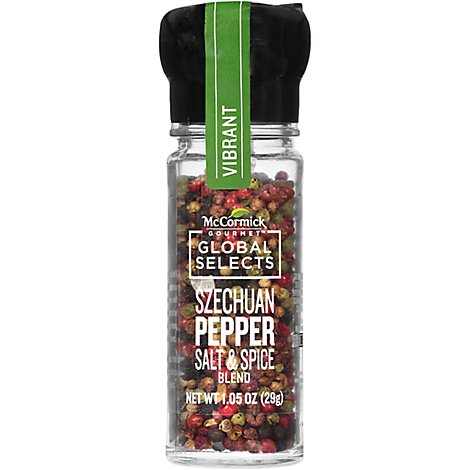 McCormick Gourmet Global Selects Szechuan Pepper Salt & Spice Blend - 1.05 Oz