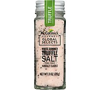 McCormick Gourmet Global Selects White Summer Truffle Salt from France Naturally Flavored 3  Oz