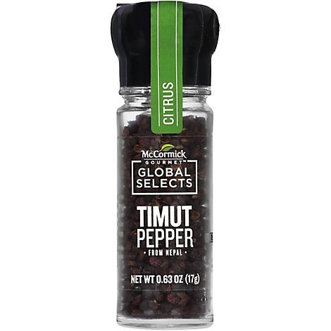 McCormick Gourmet Global Selects Timut Pepper From Nepal - 0.63 Oz
