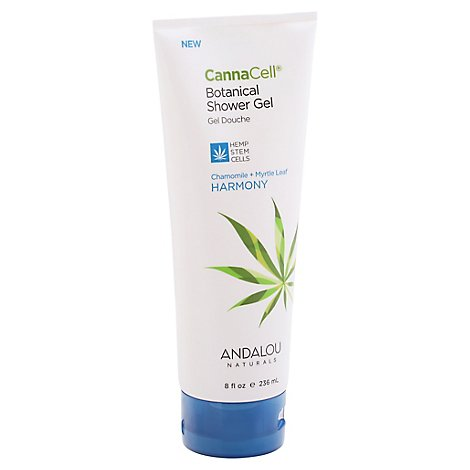 Andalou N Gel Shower Canncell Hrmny - 8 Fl. Oz.