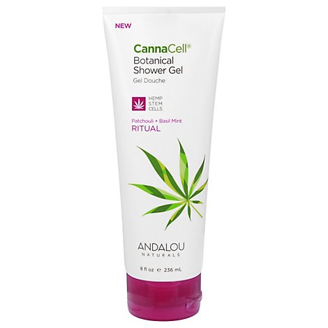 Andalou N Gel Shower Cannacell Rtul - 8 Oz