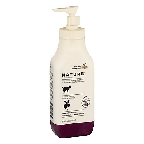 Canus Nature Lotion Moisturizing With Fresh Goats Milk Original Formula - 11.8 Oz