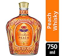 Crown Royal Whisky Flavored Peach Lto 70 Proof - 750 Ml