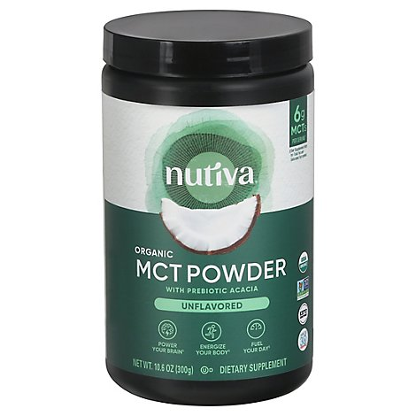 Nutiva Mct Powder - 10.6 Oz
