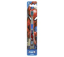 Oral-B Kids Toothbrush Kids 3+ Marvel Spiderman Soft Bristles - Each