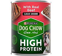 Purina Dog Chow Classic Ground With Beff - 13 Oz