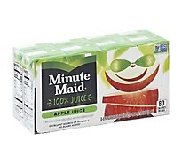 Minute Maid Juice Apple Cartons - 8-6 Fl. Oz.