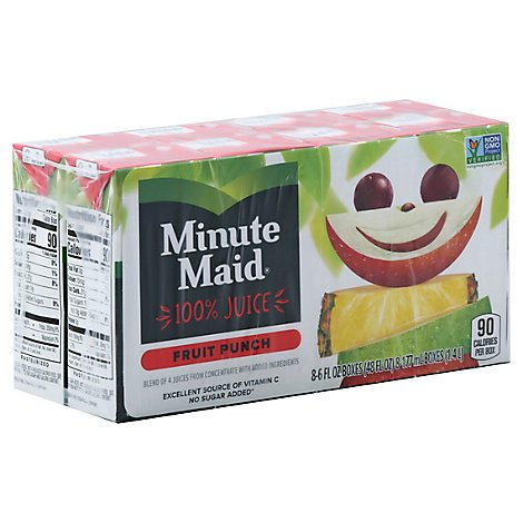 Minute Maid Fruit Punch Juice - Online