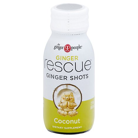Ginger Pe Shot Rescue Coconut Ginge - 2 Oz