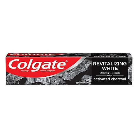 Colgate Essentials Charcoal Fresh Mint Toothpaste - 4.6 Oz