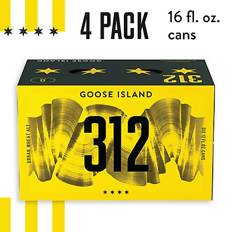 Goose Island 312 Ale Urban Wheat Cans - 6-12 Fl. Oz.
