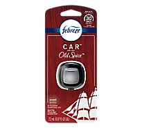 Febreze CAR Air Freshener Vent Clip With Old Spice - 0.07 Fl. Oz.
