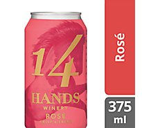 14 Hands Wine Rose Can - 375 Ml