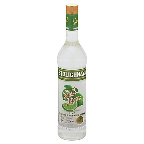 STOLICHNAYA Vodka Lime - 750 Ml