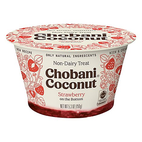 Chobani Yogurt Non Dairy Coconut Based Strawberry - 5.3 Oz