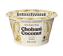 Chobani Yogurt Non Dairy Coconut Based Vanilla - 5.3 Oz