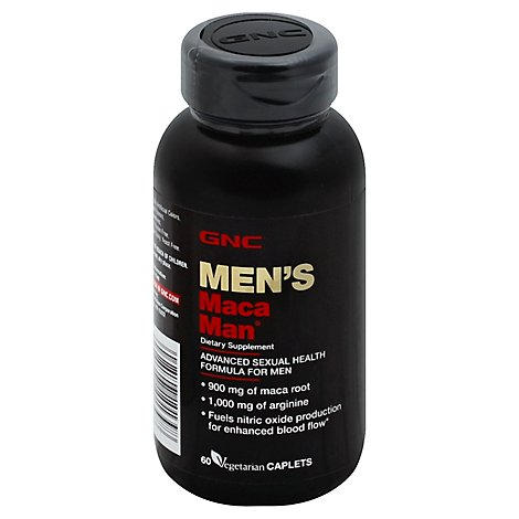 Gnc Mens Maca Man - 60 Count