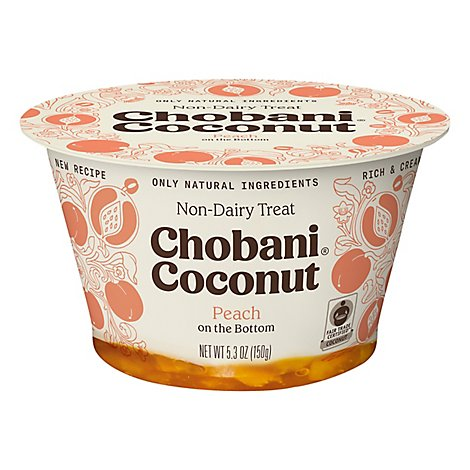 Chobani Yogurt Non Dairy Coconut Based Peach - 5.3 Oz