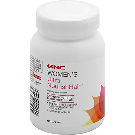 Gnc Womens Ultra Nourishhair 122 - 120 Count
