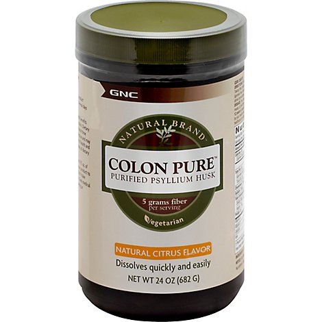Gnc Colon Pure Citrus - 24 Oz