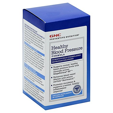 Gnc Preventive Nutrition Healthy Blood Pressure - 90 Count