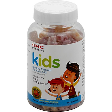 Gnc Kids Calcium Gummy - 120 Count