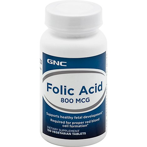 Gnc Folic Acid 800 - 100 Count