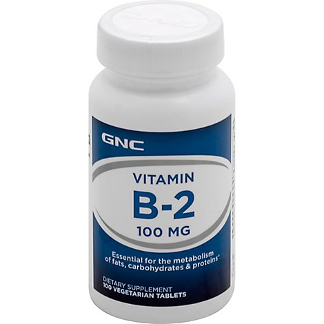 Gnc Vitamin B2 102 - 100 Count