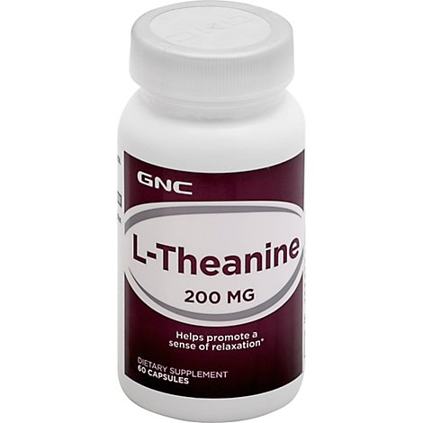 Gnc Theanine - 60 Count