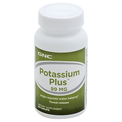 Gnc Potassium Plus 101 - 60 Count