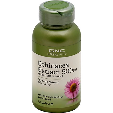 Gnc Herbal Plus  Echinacea - 100 Count
