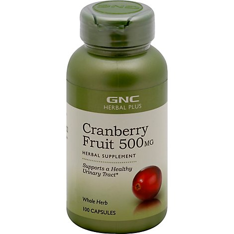 Gnc Herbal Plus  Cranberry - 100 Count