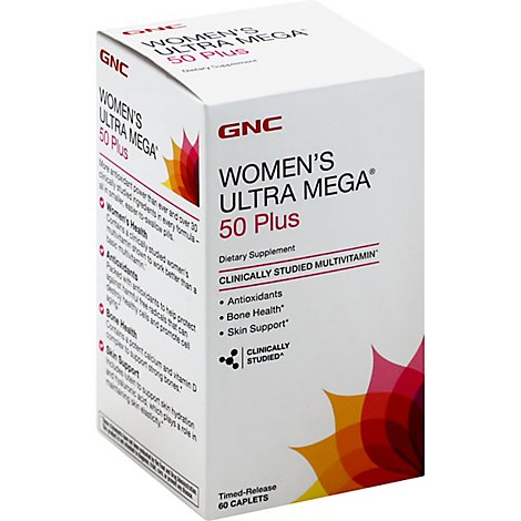 Gnc Womens 50 Plus Multi 60 Ct - 60 Count