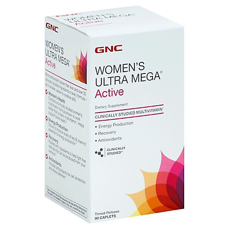 Gnc Womens Active Multi 92 - 90 Count