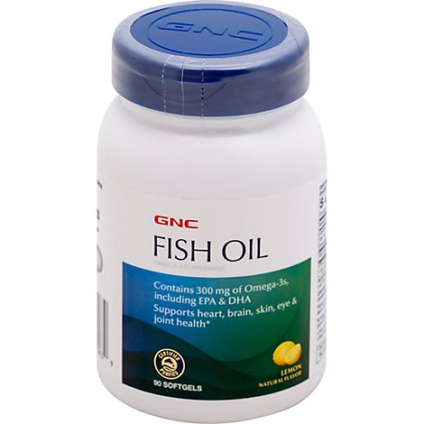 Gnc Fish Oils 90 - 90 Count