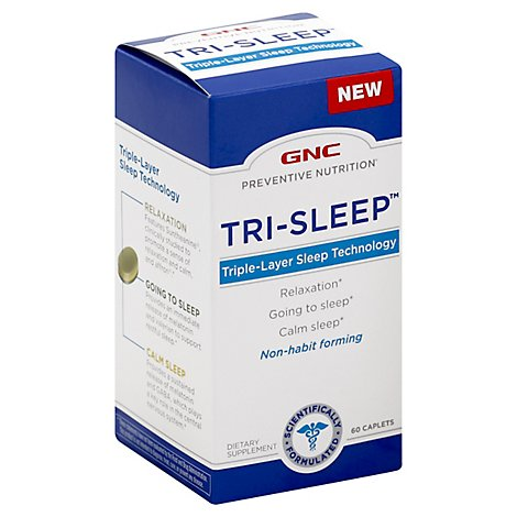 Gnc Preventive Nutrition Trisleep - 60 Count