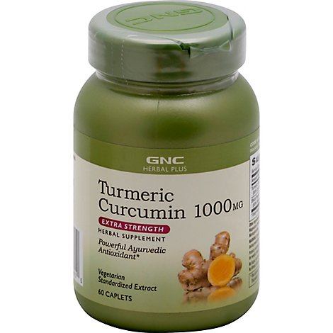 Gnc Herbal Plus  Turmeric 1052 - 60 Count