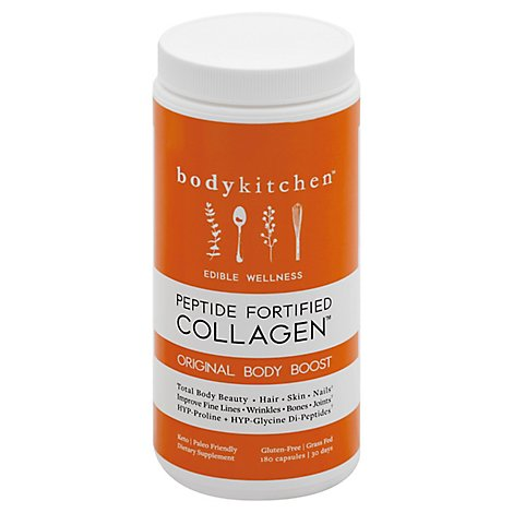 Body Kitchen Body Boost Capsules - 180 Count