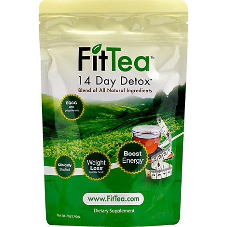 Fit Tea Detox Tea 14 Day - 2.46 Oz