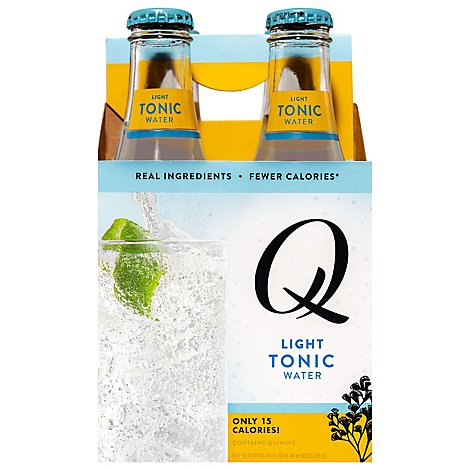 Q Mixers Tonic Water Light - 4-6.7 Fl. Oz.