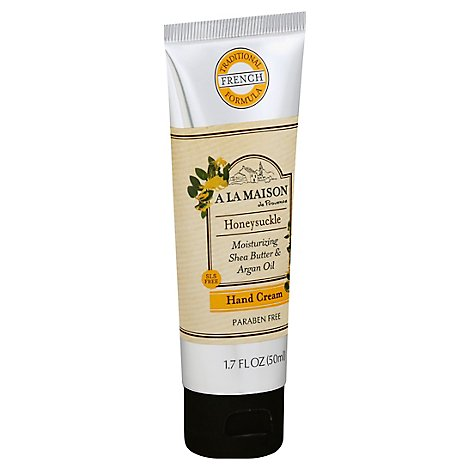 A La Mais Cream Hand Honeysuckle - 1.7 Oz