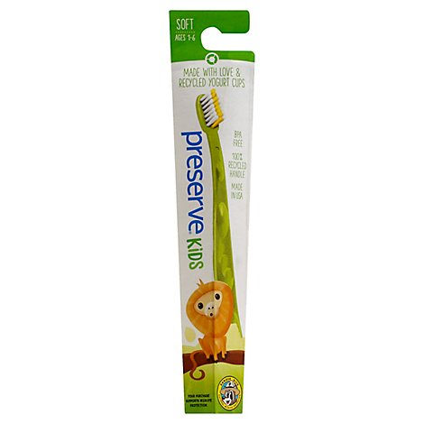 Preserve Toothbrush Soft Ages 2 To 8 - Each