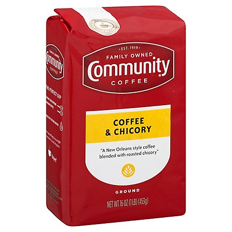 Community Coffee & Chicory New Orleans Blend - 16 Oz