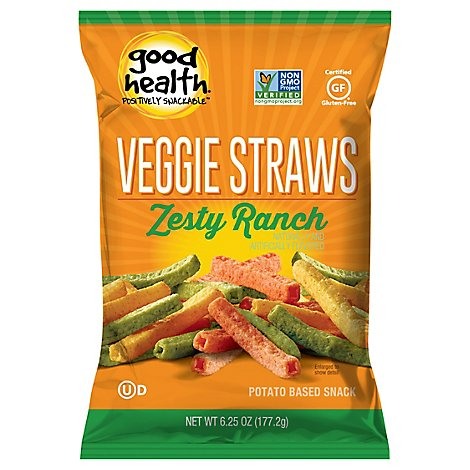 Good Health Veggie Straws Zesty Ranch - 6.75 Oz