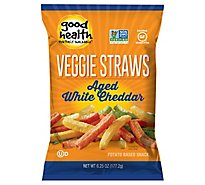 Good Health Veggie Straws Aged White Cheddar - 6.75 Oz