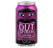 Outspoken Pinot Noir Cans Wine - 375 Ml