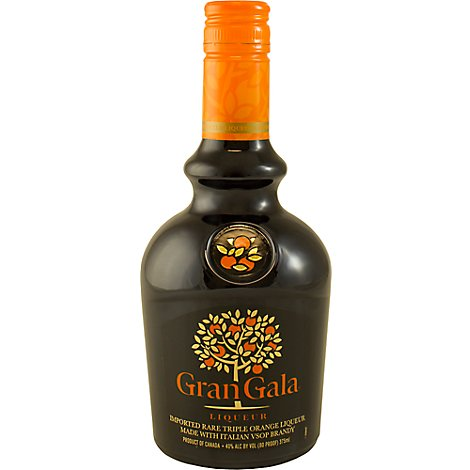 Gran Gala Orange Flavored Liqueur - 375 Ml